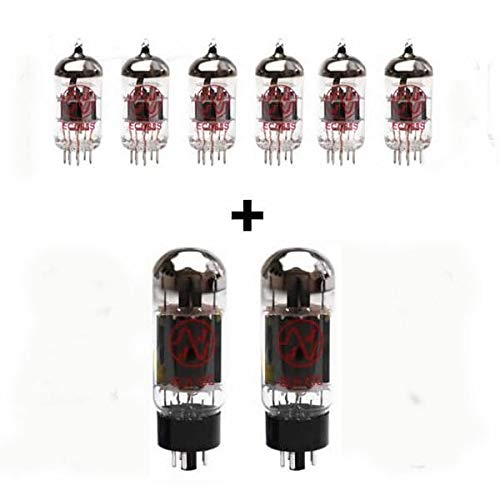 Replacement Valve Kit for Soldano Lucky 13 50W (6 x ECC83 2 x Matched 6L6GC)