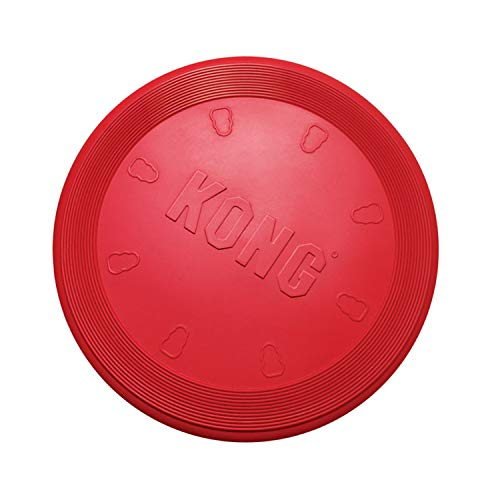 KONG - Flyer - Durable Rubber Flying Disc Dog Toy...