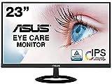 【Amazon.co.jp限定】ASUS フレームレス モニター VZ239HR 23インチ/フルHD/IPS/薄さ7mm/ブルーライト軽減/フリッカーフリー/HDMI,D-sub/スピーカー/3年保証