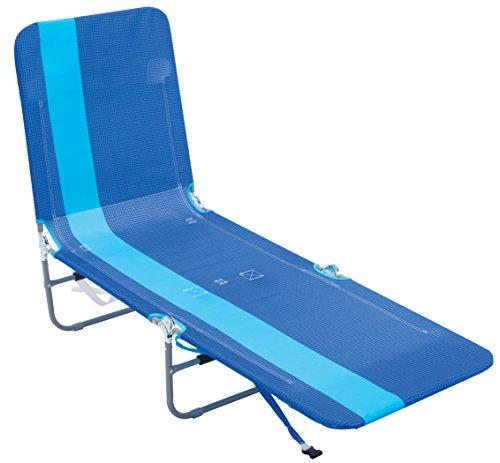 Rio Beach Portable Folding Backpack Beach Lounge Chair with...