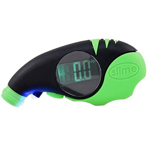 Elite Digital Tire Gauge for Cars and Trucks with Big, Bright Screen