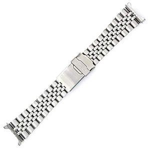Seiko 22mm Jubilee Watch Band - Stainless Steel- for Models Diver SKX007, SKX009, SKX171, SKX173, SKX175, SKX175 Cal… 8