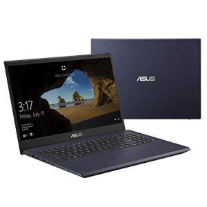 "Asus Vivobook K570ZD Laptop, 15.6"" FHD IPS-Level, AMD Quad Core Ryzen 5 2500U up to 3.6 GHz, GeForce GTX 1050 Graphics, 8GB DDR4 RAM, 256GB PCIe SSD, Wi-Fi 5, Fingerprint, Backlit KB"