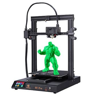 MINGDA D3 Pro 3D Printer Auto Leveling, Resume Printing 3D Printers Kit DIY Printing Machine with Filament Detection, Silent Printing, 3.5Inch Colorful Touch Screen, 320x320x400mm for Large Models