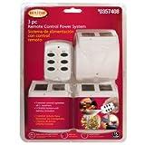 Remote Control Power Strip - 3 Wireless Receivers