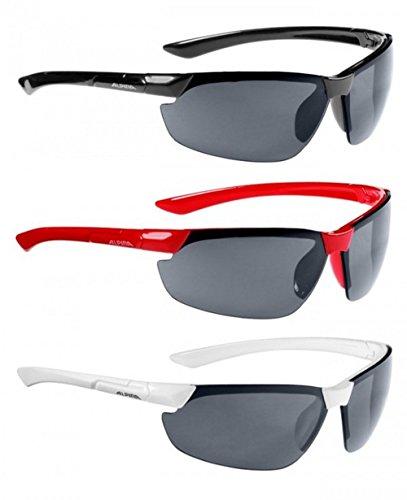 Alpina Sonnenbrille Amition DRAFF Sportbrille, weiß, one size