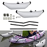 HXSD Water Sports Kayak PVC Inflatable Outrigger Float with Arms Rod Kayak Boat Fishing Standing Float Stabilizer System Kit