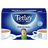 Tetley Tetley Original Tea Bags 100% Tea Delivery from the UK in 7-10 Days 240 Tea Bags Per Pack