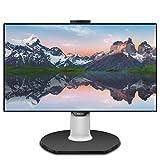 Philips Brilliance 329P9H 32' Monitor, 4K UHD, IPS, 108% sRGB, USB-C connectivity, Windows Hello pop-up Webcam, LightSensor, VESA, Height Adjustable, 4Yr Advance Replacement Warranty
