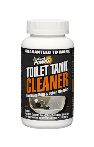 Instant Power 1806 Toilet Tank Cleaner, 16 oz,White