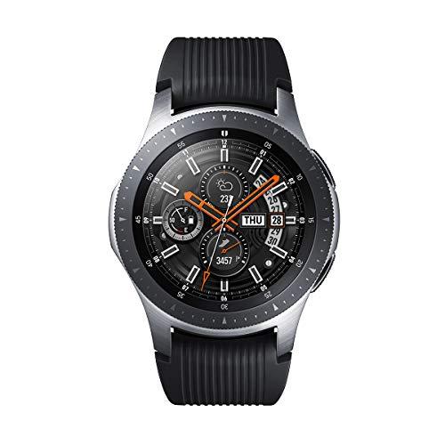 Samsung Galaxy Watch - Reloj Inteligente, Bluetooth, Plata, 46 mm-...