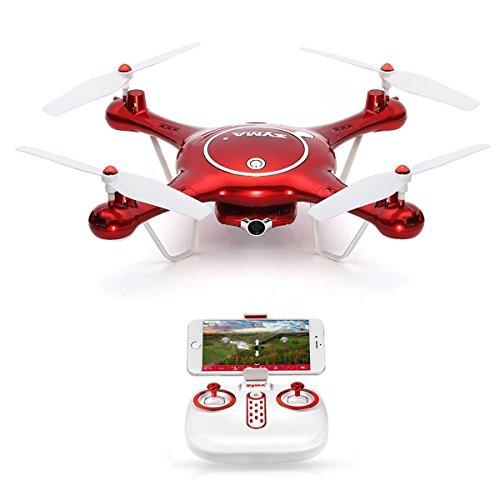 Goolsky SYMA X5UW WiFi FPV Drone con 720p HD Camera Quadcopter ,modalit Senza Testa & barometro & Imposta Altezza