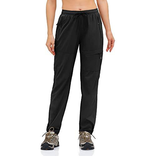 HMIYA Pantalon de Randonnée Trekking léger pour Femme Séchage Rapide UV...