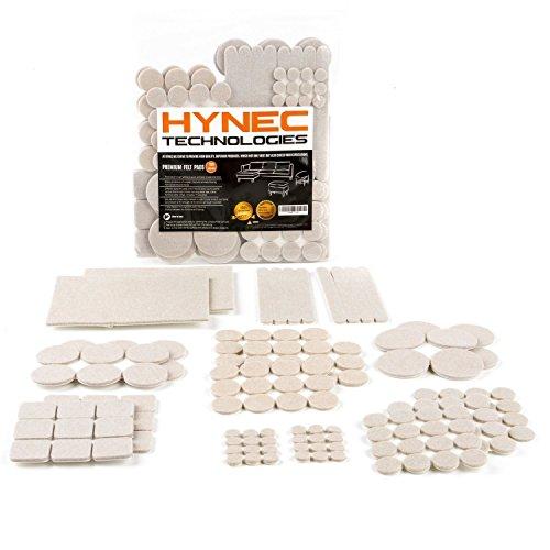 Hynec Set di feltrini GRANDI di alta qualit , autoadesivi , per mobili e sedie , per proteggere il...