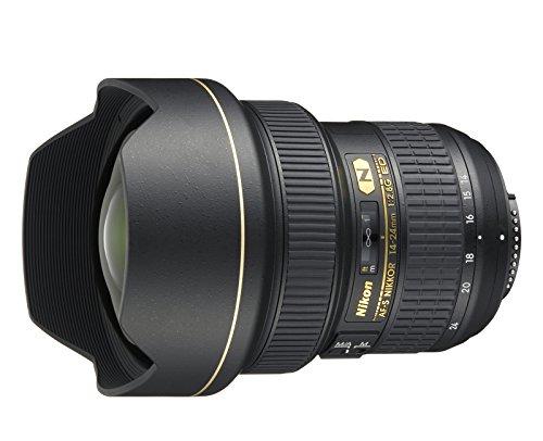 Nikon Nikkor - Objetivo para cámara AF-S 14-24mm f/2.8G ED (14/11, 9.8 cm, 13.15 cm), Color...