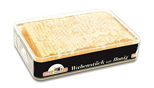 ImkerPur® a nido d' ape realizzato con miele di acacia altamente aromatico (2019 anni), 400 g, in un contenitore fresco e sicuro di alta qualità per alimenti