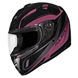 Fulmer, 1521324, Adult Full Face Motorcycle Helmet DOT Approved 152 Ace - Pink, L
