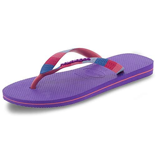 Havaianas Top Verano, Chanclas para Mujer, Morado (Purple 0719), 39/40 EU