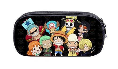 WANHONGYUE One Piece Anime Astuccio Borsa di Cancelleria Cassa di Matita Sacchetto Borsello /7