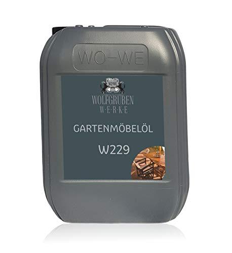 Olio per Mobili da Giardino e Terrazza Cura Legno di Teak W229-10L