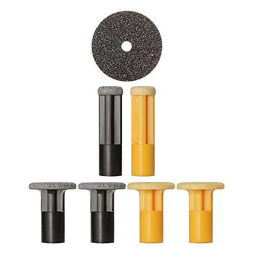 PMD Personal Microderm Body Kit Replacement Discs, Yellow and Black