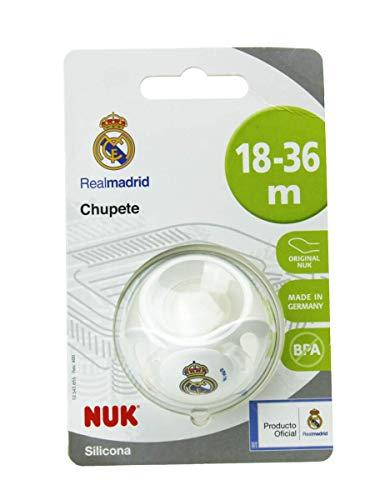 NUK Genius, Chupete del Real Madrid para Bebé de Silicona c
