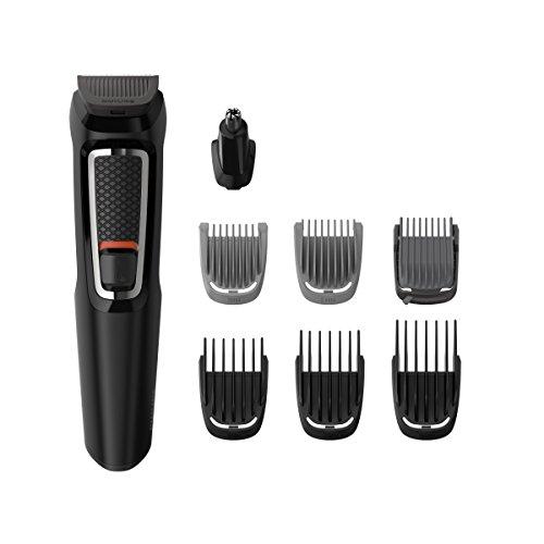 Philips MG3720/15 Tondeuse Multi-Styles Series 3000 8-en-1 Barbe et Cheveux