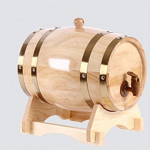 Hael Botte di Rovere Whisky Barrel, Legno Vintage Legno di Quercia Botte di Vino Invecchiato per...