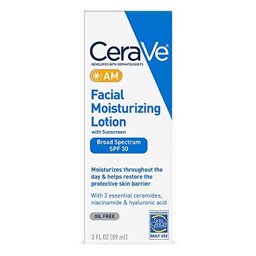 CeraVe AM Facial Moisturizing Lotion SPF 30 |...