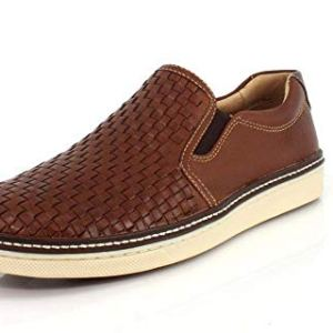 Johnston & Murphy Men's McGuffey Woven Slip-On Shoe