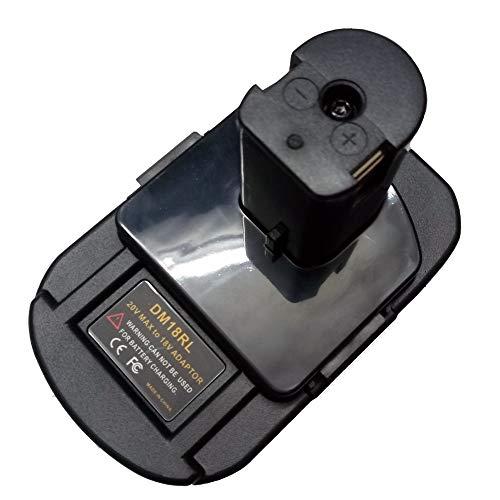 DM18RL Battery Converter Adapter USB DM20ROB for RYOBI Convert for DEWALT 20V for Milwaukee M18 to 18V NI-CD NI-MH Battery P108 ABP1801