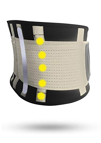 Fascia Lombare Supporto Schiena Tech Therapeutics - Cintura Lombare di Sostegno Fascia Schiena...