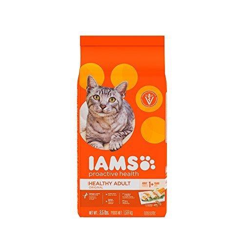 IAMS Proactive Health Original Adult Dry Cat Food, 3.5 lbs, (Pack of 2)
