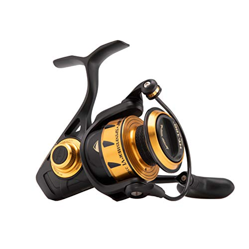 PENN Fishing Spinfisher VI Saltwater Spinning Reel, 5500 Reel Size, 5.6:1 Gear Ratio, 39' Retrieve...