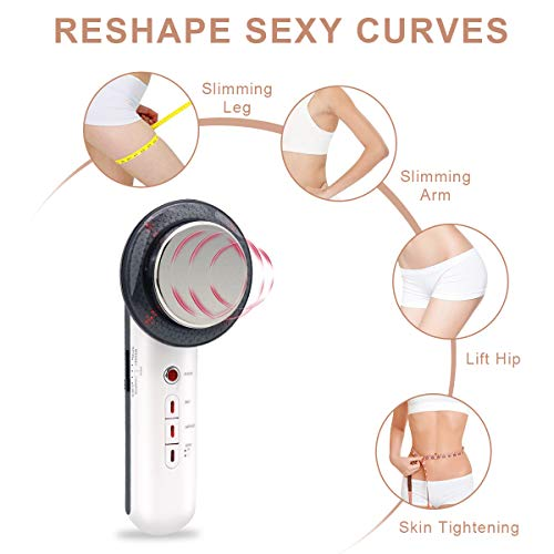 Fat Remover Machine 3 in 1 EMS Weight Loss Massager Body Sliming Device for Arms Waist Abdomen Hip Legs Massage Skin Tightening Firming Sili Technology 7