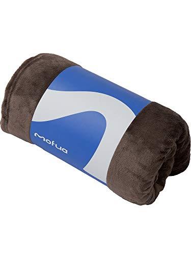 mofua(モフア) 毛布 シングル ふんわりあったか 静電気防止加工 マイクロファイバー 1年間品質保証 洗える