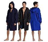 Adoretex Unisex Adult & Youth Swim Parka - Black Lining
