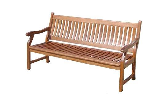 Sedex Gartenbank New Jersey, 3-Sitzer, Holzbank aus Hartholz Eukalyptus 100{6513942f129678a84898cfd7a5a3d00c1c1e21965b40ca5d1f6c25a26cbb5a5f} FSC