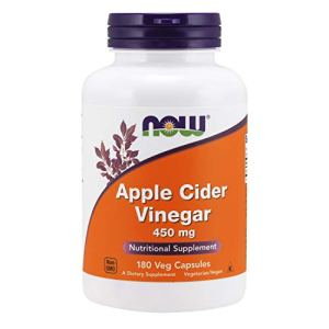 NOW Supplements, Apple Cider Vinegar 450 mg, Derived from Fermentation of Sweet Apple Cider, 180 Capsules 8 - My Weight Loss Today