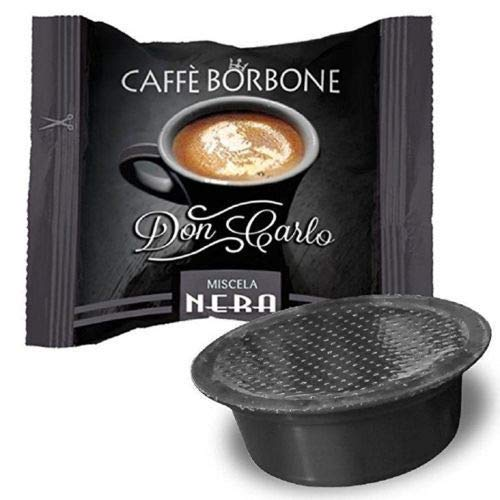200 CAPSULE COMPATIBILI A MODO MIO CAFFE' BORBONE DON CARLO MISCELA NERA