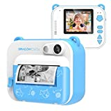 Dragon Touch InstantFun Instant Print Camera for Kids, Zero Ink Toy Camera with PrintPaper,...
