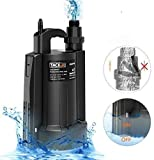 TACKLIFE Submersible Sump Pump, 1/3 HP Automatic Water Pump with Pure Copper Motor, 2550 GPH Max Flow, for Swimming pool, Garden pond, Flood drain