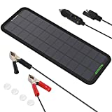 ALLPOWERS 12V 7.5W Portable Solar Car Boat Power Sunpower Solar Panel Battery Charger Maintainer for...