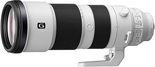 Sony SEL-200600G G Super-Telezoom Objektiv (200-600 mm, F5.6-6.3, Vollformat, geeignet für A9, A7, A6000, A5100, A5000 und Nex Serien, E-Mount) weiß