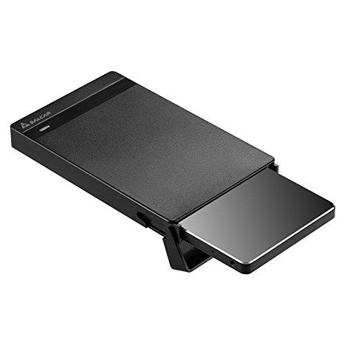 Salcar【2019最新版】USB3.0 2.5インチ 9.5mm/7mm厚両対応 HDD/SSDケース SATAⅠ/Ⅱ/Ⅲ対応