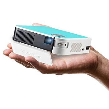 ViewSonic M1 Mini Portable LED Projector, Bluetooth JBL Speaker, HDMI, Auto Keystone, Stream Netflix with Dongle (M1 Mini)