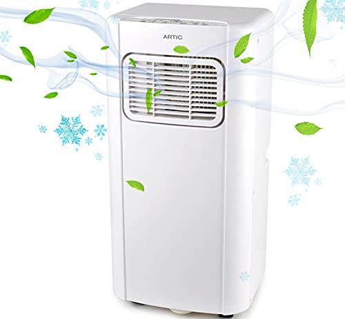 Aire acondicionado portátil con luz UV 4 en 1 ARTIC UV 7000 Btu...