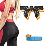 WVTFZT Butt Hip Trainer, Buttocks Toner Ab Trainer, Home Workout Equipment for Buttocks Lifting with 10 PCS Extra Sticky Pads