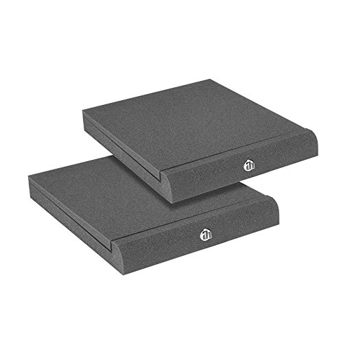 Adam Hall Stands Pad Eco Serie spadeco2Absorber per monitor da studio, colore grigio antracite
