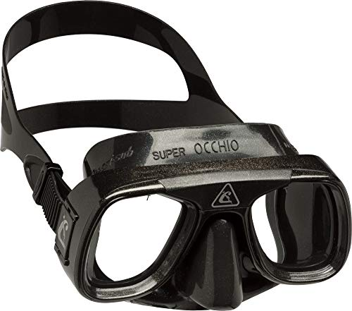 Cressi Adult 2-window Low Volume Diving Mask   Superocchio: made in Italy Cressi Low Volume Mask Made of Quality Silicone for a Perfect Seal   Superocchio: made in Italy